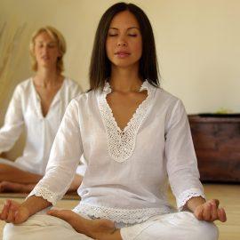 Due Donne meditano